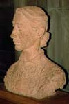 Milly The Sculptor's Wife- terracotta by Benno Schotz