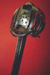 Scottish broadsword with basket hilt